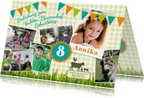 Einladung zum Kindergeburtstag beim Zeintl Erlebnisbauernhof