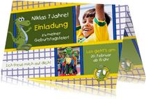Einladungskarte Nessi Kinderland