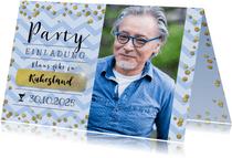 Einladungskarte zur Ruhestand-Party