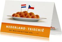 EK- Nederland - Tsjechie - het was een bittere bal....