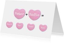 Familie Hartjes valentijnskaart