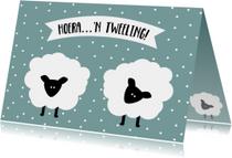 Felicitatie Tweeling 2 - WW