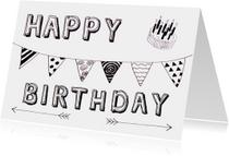 felicitatie verjaardag birthday