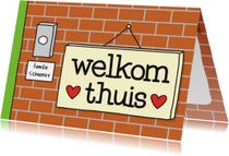 Felicitatie Woning Welkom Thuis