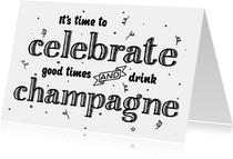 Felicitatiekaart celebrate