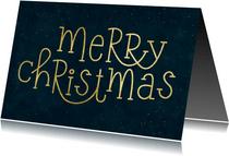 Firmen-Weihnachtskarte Merry Christmas