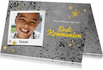 Foto-Einladung zur Kommunion cool