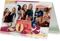 Foto-Neujahrskarte 2022