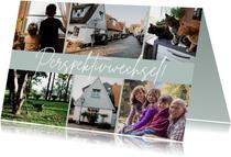 Foto-Umzugskarte Bilderreihe Perspektivwechsel