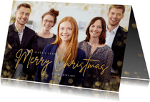 Foto-Weihnachtskarte geschäftlich