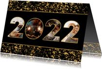 Fotokaart 2022 fotocollage spetters