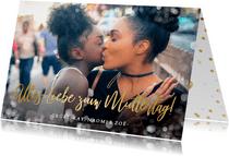 Fotokarte 'Alles Liebe zum Muttertag'