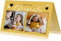 Fotokarte Ostergrüße