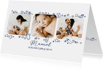 Geburtskarte Fotos und Icons