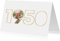 Geburtstagseinladung für den Jahrgang 1950
