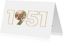 Geburtstagseinladung für den Jahrgang 1951