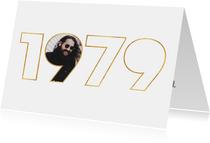 Geburtstagseinladung für den Jahrgang 1979
