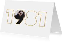 Geburtstagseinladung für den Jahrgang 1981