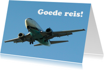 Goede reis Vliegtuig 2