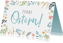 Grußkarte Frohe Ostern