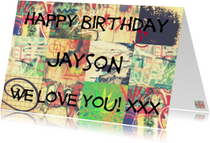 Happy Graffiti Birthday