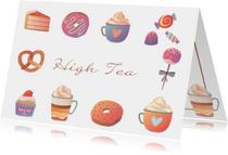 High Tea uitnodiging - DH