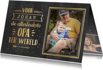 Hippe valentijnskaart met foto voor de leukste opa!