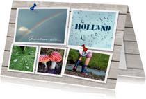 Hollandse groeten - fotokaart