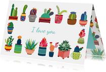 I love you cactus - DH