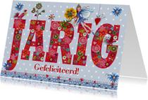 Jarig Gefeliciteerd elfje Cartita Design