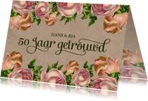 Jubileum 50 vintage rozen