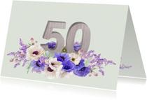 Jubileum anemonen 50 jaar