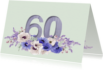 Jubileum anemonen 60 jaar