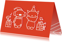 Kerst diertjes
