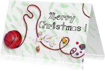 Kerstkaarten - Kerst met takjes