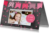 Kinderfeestje foto en confetti