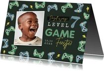Kinderfeestje gamen controllers foto