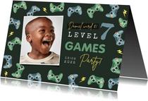 Kindergeburtstag Einladung Gamingparty