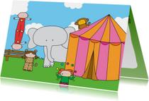 Kinderkaart Circus