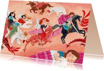 Kinderkaart Draken, beren en prinsessen en helden!