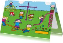 Kinderkaart Speeltuin