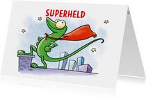 Kinderkaart Superheld