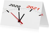 Klok telt af naar 2021