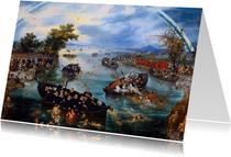 Kunstkaart De zielenvisserij van Adriaan van de Venne