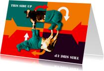 kunstkaart This Side Up