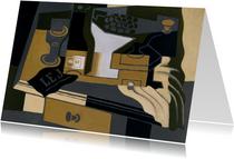 Kunstkaart van Juan Gris. Stilleven