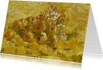Kunstkaart van Vincent van Gogh. Kweeperen