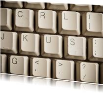 KUS op computer toetsenbord