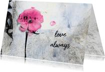 Liefde kaart love always