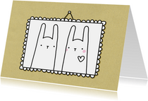 Liefde konijntjes